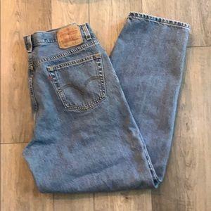 Levi's 560 comfort fit 36 X 32 Cotton denim jeans